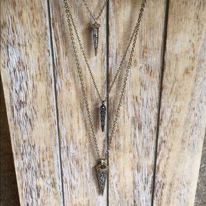 Chloe + Isabel amulet  Convertible necklace